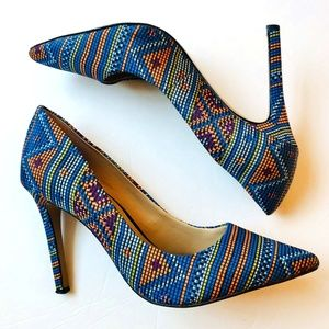 Vince Camuto | Callista Aztec Pointed Toe Pumps
